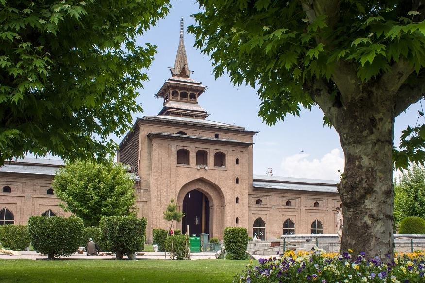 سری نگرکی تاریخی جامع مسجد: فائل فوٹو