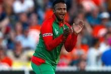 پابندی کے بعد بنگلہ دیش کےاسٹارشکیب الحسن کوملا 'تحفہ، دیا یہ بیان
