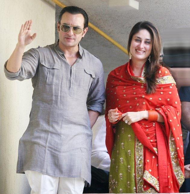 کرینہ اور سیف علی خان دونوں کی شادی ان دنوں کافی چرچا میں رہی تھی۔