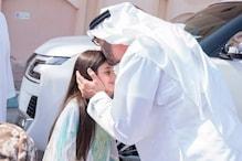 !جب بچی کی کیوٹنیس دیکھ کر ملنے کیلئے اس کے گھر پہنچ گئے ابو ظہبی کے ولی عہد شہزادہ