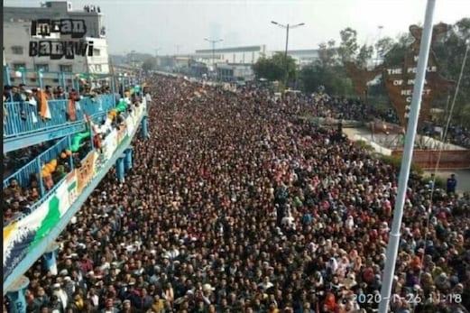 شاہین باغ میں رقم کی گئی تاریخ، ہزاروں کی تعدادمیں لوگوں نے منایا یوم جمہوریہ کا جشن