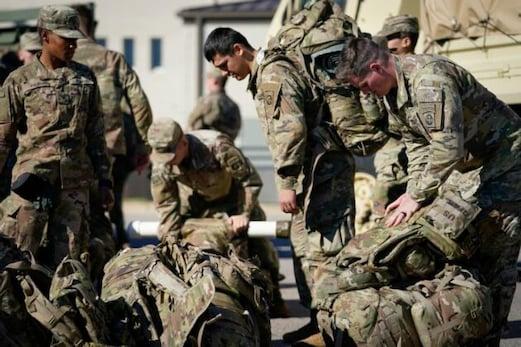امریکی فوج کو نشانہ بناکر  چار راکٹوں  سےعراقی ایر بیس پر کیے گئے حملے، 4عراقی پائلٹ زخمی
