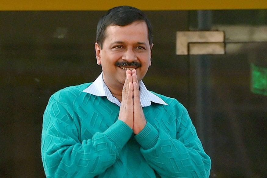 دہلی کے وزیراعلیٰ اروند کیجریوال۔ تصویر: پی ٹی آئی