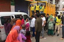 دہلی تشدد: حالات سدھرتے ہی برہمن پوری پہنچے والنٹیرس، تقسیم کررہے دوا اور کھانا
