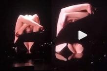 ویڈیو: امریکہ کی اس مشہور سنگر  نے لائیو شو میں اچانک اتار دئے کپڑے، باڈی شیمنگ پر دیا سخت