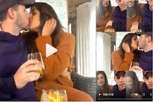 پرینکا چوپڑا اور نک جونس نے لائیو چیٹ کے دوران کیا لپ کس، ویڈیو وائرل