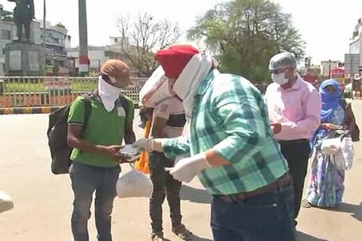 الہ آباد: امداد لینے والے ضرورت مندوں کی تصویریں وائرل کرنے پر لگی روک