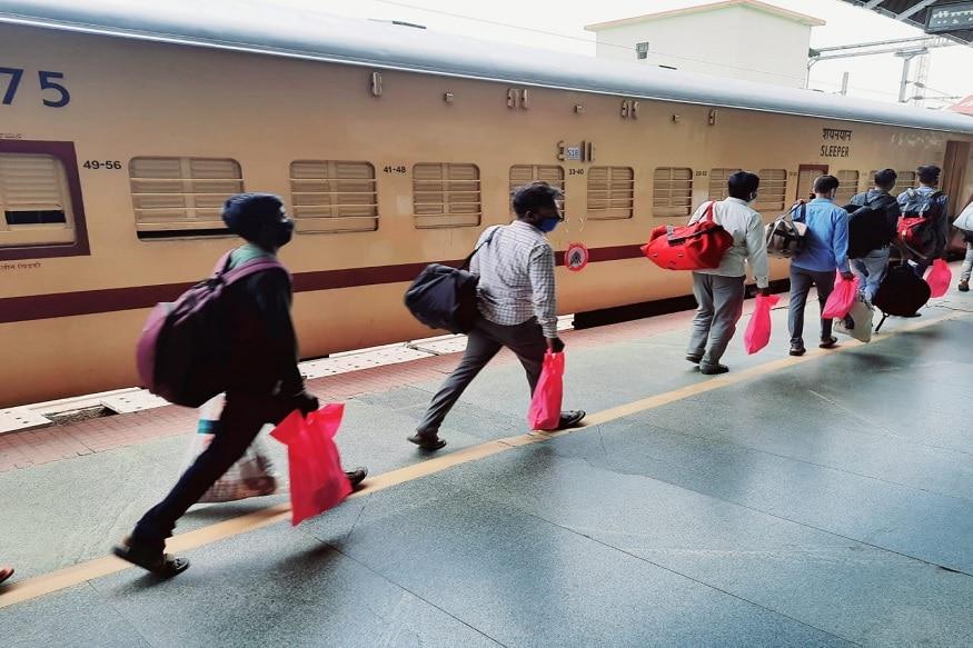 ویسٹرن ریلوے نے 3مئی سے بنگلورو اور کرناٹک کے چند دیگر شہروں سے شرمک ٹرین سرویس شروع کی ہے۔