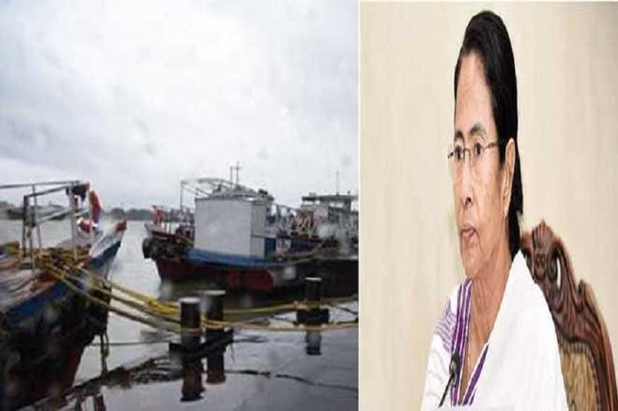 """وزیر اعلیٰ ممتا بنرجی نے""""امفان طوفان"""" کو خطرناک قراردیتے ہوئے کہا ہے کہ میں ملبے پر کھڑی ہوں۔"""