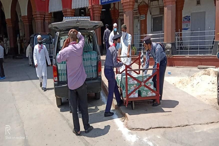 تمل ناڈو کے تبلیغی جماعت سے وابستہ 644 جماعتی کو پرانی دہلی ریلوے اسٹیشن سے خصوصی ٹرین کے ذریعہ تمل ناڈو واپس بھیجا گیا۔