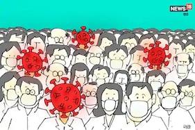 COVID 19 : گزشتہ 24 گھنٹوں میں دہلی پر برپا قہر ، ایک ہزار سے زیادہ نئے کیسیز ، 13 کی موت