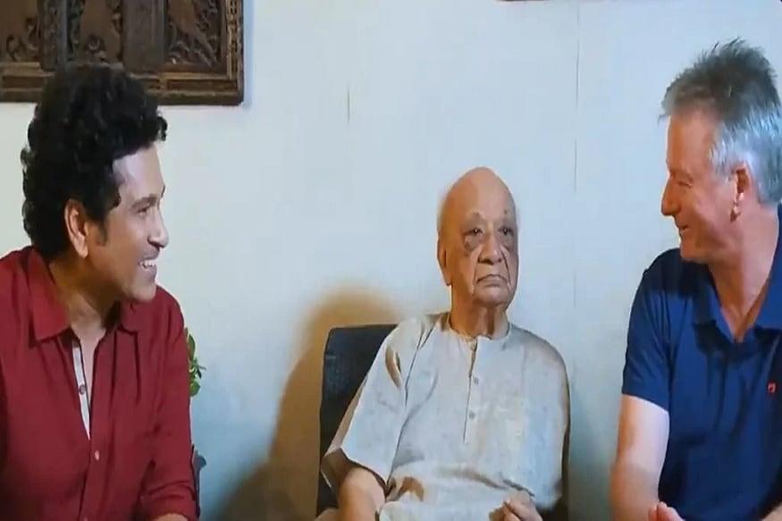وسنت رائے جی نے اسی سال 26 جنوری کو سچن تندولکر 100 واں یوم پیدائش منایا تھا۔
