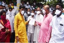 ناندیڑ : پیٹرول اورڈیزل کے دام میں اضافہ کے خلاف اشوک چوہان کی قیادت میں کانگریس کا احتجاج