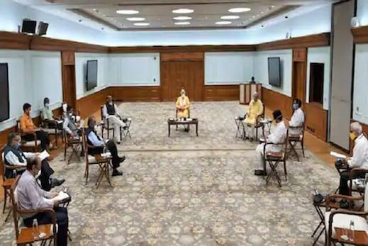 وزیر اعظم مودی نے کورونا پر وزرا اور افسران کے ساتھ کی میٹنگ ،5 ریاستیں بنیں تشویش کا باعث