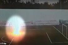 جب پریکٹس کے دوران فٹ بال کھلاڑی کے ساتھ ہوا کچھ ایسا، دیکھیں بھیانک ویڈیو