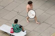 فیس ماسک پہننا ہوا لازمی تو اس شخص نے پرائیویٹ پارٹ پر لگایا اور گھوم آیا بازار
