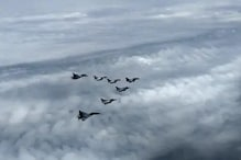 انبالہ ائیر بیس پر لینڈ ہوئے پانچوں رافیل،وزیر دفاع نے کہا:فوجی تاریخ کے نئے دور کی شروعات