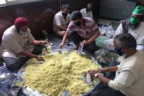 بنگلورو کے مسلم نوجوانوں میں خدمت خلق کا جذبہ، بنشنکری میں مفت کھانہ تقسیم پروگرام کے 100