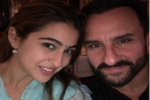 سارا علی خان نے والد سیف علی خان کو انوکھے انداز میں دی یوم پیدائش کی مبارکباد