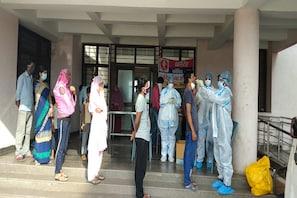 مدھیہ پردیش: کورونا ٹاسک فورس کے ذمہ داران اسپتال میں ہوئے داخل