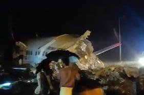 کوزی کوڈ میں رن وے پر پھسل کر دو حصوں میں تقسیم ہوگیا ائیر انڈیا کا طیارہ ، 15 کی موت