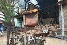 جموں و کشمیر : کپواڑہ منون میں آتشزدگی کی ہولناک واردات ، کروڑوں روپے کا شاپنگ کمپلکس خاکستر