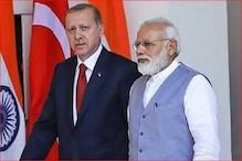 ہندوستان کی ترکی کو ہدایت ، کہا : ہندوستان کے داخلی معاملات میں نہ دے دخل