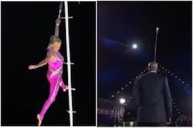 81 سال کی دادی نے 85 فٹ لمبے پول پر کیا کچھ ایسا کہ دیکھ کراڑ گئے سبھی کے ہوش: ویڈیو یہاں