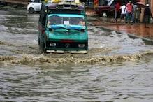 جموں میں مسلسل بارش سے لوگوں کا جینا محال، سڑکوں پر سیلاب جیسی صورتحال