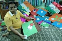 پرانی دہلی کے تقی محمد نے پتنگوں کی روایت کو بنایا کورونا وائرس کے خلاف جنگ میںہتھیار