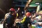 بھیونڈی میں تاش کے پتوں کی طرح منہدم ہو گئی عمارت، ملبے سے زندہ نکالا گیا 5 سال کا بچہ