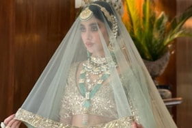 دلہن بن کر تیار ہوئیں اداکارہ جھانوی کپور ، لوگوں نے کہہ ڈالی ایسی بات ، تصویر وائرل