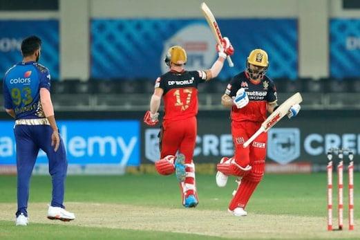 IPL 2020: سپر اوور میں رائل چیلنجرس بنگلور نے ممبئی انڈینس پر دلچسپ جیت حاصل کی