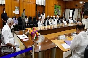 بنگلورو تشدد معاملہ : علماء کرام و ملی تنظیموں کے وفد کی وزیر اعلی سے ملاقات
