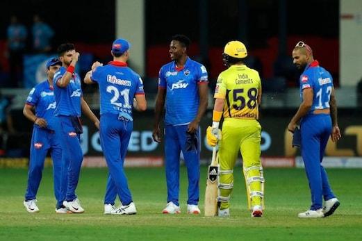 IPL 2020: چنئی سپرکنگس کی مسلسل دوسری شکست، دہلی کیپٹلس نے شکست دے دی