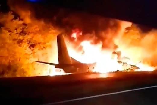 مشرقی یوکرین میں طیارہ حادثہ میں ہلاکتوں کی تعداد بڑھ کر 25 ہوئی