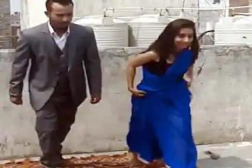 Viral Video : لڑکی نے ساڑی پہن کر کیا ایسا کام ، مچ گیا ہنگامہ ، ویڈیو کو کروڑوں میں ملے ویوز