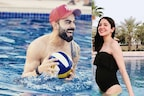 حاملہ انوشکا شرما نے شوہر وراٹ کوہلی کی ٹیم کی جیت کا جشن کچھ یوں منایا، دیکھتے رہ گئے لوگ