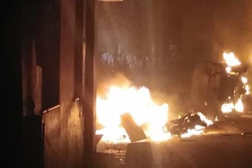 بنگلورو تشدد کیلئے سنپت راج اور ذاکر ذمہ دار ، ضمانت پر رہا ہونے والے ملزم نوین کا بیان