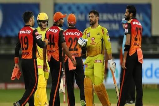 IPL 2020: چنئی سپرکنگس کو مسلسل تیسری شکست کا سامنا، حیدرآباد کو ملی 7 رن سے جیت