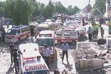 پاکستان کے کراچی میں ایک عمارت میں دھماکہ ، 3 لوگوں کی موت، 15 زخمی