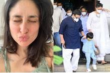حاملہ کرینہ کپور نے گھر جانے کی خوشی میں سوشل میڈیاپر شیئر کر دی ایسی تصویر، مچ گیا ہنگامہ