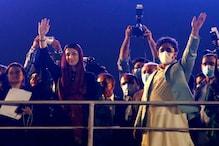 کراچی ریلی کے بعد مریم شریف کے شوہر کو ہوٹل کا کمرہ توڑ کر پولیس نے کیا گرفتار