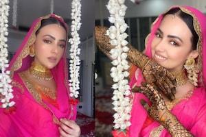 مفتی انس سے شادی کے بعد اداکارہ ثنا خان نے اب شیئر کی اپنی ایسی تصویریں ، وائرل