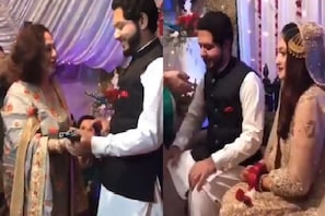 پاکستان میں نکاح کے بعد ساس نے چومی دولہے کی پیشانی اور تحفے میں دیاکچھ ایسا کہ اڑ گئے ہوش