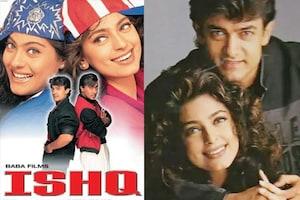 اس وجہ سے 'عشق' کے بعد کسی فلم میں ساتھ نہیں نظر آئے عامر خان - جوہی چاولہ