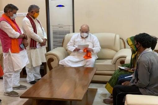 وزیر داخلہ امت شاہ مغربی بنگال کے قبائلی خاندان کے ساتھ کریں گے لنچ