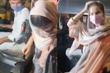 سنی لیونی آٹو رکشہ میں یہ کرتی آئیں نظر، فینس کے اڑ گئے ہوش، سامنے آئی ویڈیو