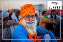 نیوز 18 نیٹ ورک سروے: سروے میں شامل 73.05 لوگوں نے کی زرعی اصلاحات کی حمایت