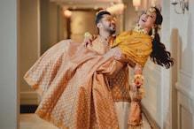 شادی سے ایک رات پہلے اداکارہ گوہر خان نے زید دربار کے ساتھ کروایا ایسا فوٹوشوٹ